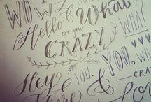Calligraphy~