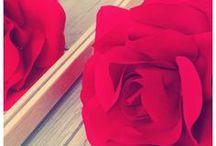 Flores / Flowers / #Flores hechas a mano #flowers #handmade