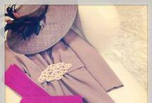 HANE Looks / Conjuntos con sombreros, tocados, diademas u otros accesorios realizados artesanalmente por HANE