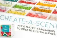 Create-a-Scent / Scentchips allows you to create a custom fragrance for your home. Combine our Single Fragrance to make a Blend as unique as you are! http://www.scentchips.com/fragrances/create-a-scent.html