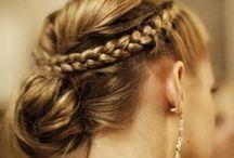 Peinados / Hairdos / Peinados originales, elegantes, informales... para llevar tocados, pamelas o diademas de Hane.