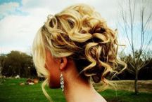 Hair / Updos / styles for curly hair