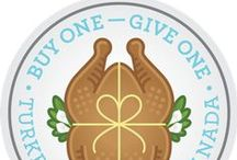 #BOGOTurkey / Email us to be invited to pin to our group #BOGOTurkey board: info@tfc-edc.ca.  In our sixth year of partnering with Food Banks Canada, Tasty Turkey (Turkey Farmers of Canada) is challenging Canadians to participate in a Buy One Give One campaign. Our hope is that Canadians will BOGO this year - that is buy a turkey and give one to their local food bank to help others in their own communities.