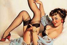 Pin up & vintage / Inspirations billeder