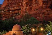 Desert Jewel tone sunset