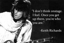 "Keith Richards Quotes / ""What Would Keith Richards Do?"""
