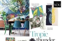 LIVING TRENDS / What's hot and new in the world of fashionable living.