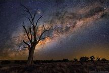 """Milky Way / """"I like the night. Without the dark, we'd never see the stars."""""""