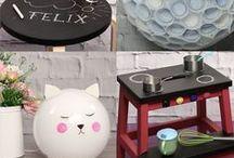 DIY-Deko-Ideen / Hier findest du ein paar Inspirationen für deine Heim-Deko