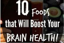 ♛ Healthy Eating / Superfoods to boost brain health