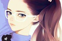 ♛ Drawing, Anime & Manga Art