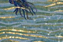 mozaika i witraż