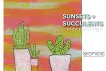 Be Inspired // Sunsets + Succulents by Jenn Taylor