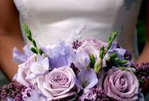 My White & Purple Wedding / *-* <3