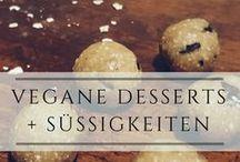 vegane Desserts + Süßigkeiten