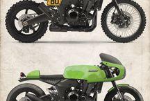 Pimp my m'bike / Idee per trasformare un Kawa Z1000 del 2006