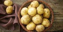 Leckere Rezepte mit Kartoffeln / Kennen Sie schon Kartoffeln als Belag auf Pizza, als Curry mit Shrimps oder als süße Nachspeise? Müssen Sie unbedingt probieren!