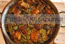 Paellas y arroces #spanish #paella / Selección de Arroces y paellas muchas echas por mi ya que soy Valenciana y me encanta cocinar arroces, espero que os gusten