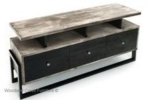 Reclaimed Furniture / Introducing our new line of reclaimed furniture. Crafted from solid reclaimed wood. Woodland Creek has been crafting reclaimed wood furniture and timber furniture for over ten years - long before the terms green furniture or reclaimed wood furniture became popular.