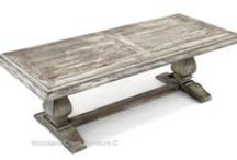 Cottage Furniture / Beautiful hand-crafted distressed solid wood is combined with a rainbow of colors for your choosing. No veneers are used and all furniture is hand finished the old fashioned way. This line of furniture is available with either an antique, distressed finish or solid color finish.  Over 1,000 custom color choices are available. Custom Sizes