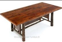 Rustic Hickory Furniture / Traditional bent hickory furniture, often combined with oak for rustic appeal to last a lifetime. It is a classic look that is economical and comfortable.