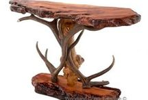 Attirant Antler Lodge Furniture / One Of A Kind, Hand Crafted Furniture