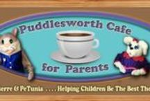 Blog, Articles & Videos / Puddlesworth Cafe for Parents! Where Harry Pierre & PeTunia bring parents together for Little Buddies! Parents, Teachers and Caregivers welcome to join us! #children #parenting #education #entertainment #hpppuddlesworth http://hpppuddlesworth.com