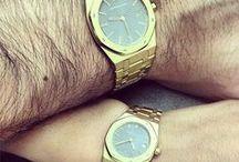 His & Hers Diamond Watches / Custom Made Diamond Watches for Men&Women