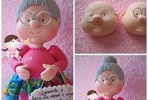 polymer and clay / muñequitos y figuras echas de porcelana fria o pasta nos comestible autenticas maravillas