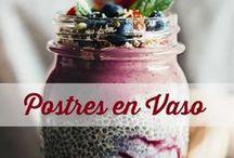 postres en vaso,sweets in a cup,