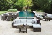 Woven Collections / Outdoor furniture collections crafted in weather-proof and weather-resistant woven materials.