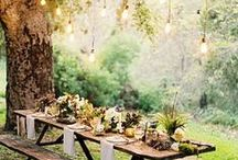 Outdoor Wedding / Ideas for a perfect spring outdoor wedding