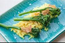 Bimi con pasta y arroz