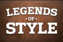 Legends of Style / Through decades, the NFL has been home to some of the most fashionable men in America. Here, we salute our league's legends of style.