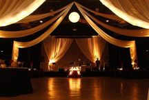 Wedding reception decor / Ideas for beautiful wedding reception decor & lighting solutions.