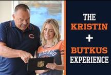 The Kristin + Butkus Experience / A collection of pins from NFL Legend Dick Butkus and Kristin Cavallari.