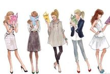 Fashion Sketches / by Brynne Davies