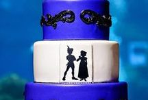 Cakes - Utah Wedding / Your wedding cake is a work of art. Most wedding cake bakeries can be as creative as your imagination will allow. From the traditional to whimsical, these wedding cakes will taste as fantastic as they look.
