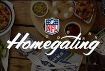 DIY #NFLHomegating / Bring the spirit of the game home! DIY your #NFLHomegating with recipes, free downloads, DIYs and more!