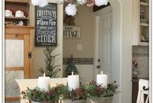 Christmas / christmas decor, ideas
