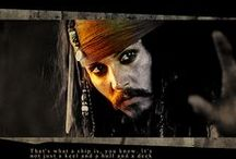 Captain Jack Sparrow Savvy? / The one and only.