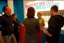 """Archiv - Dialog mit der Zeit. / Die Wechselausstellung """"Dialog mit der Zeit. Wie lebe ich, wenn ich alt bin?"""""""