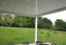 Pergola Awning / Gibus Twist bioclimatic pergola awning