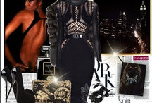 Hot Night in the City / Bold and sexy little outfits for a night out on the town.