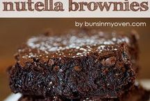 """Nutella recipes to die for / Everything with """"Nutella""""..."""