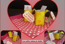 Bricolages pour la fête des mères par les p'tits loulous de Gaëla / Bricolages et activités des enfants/assistante maternelle