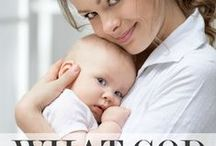 Christian Parenting / How to raise Godly children and cute baby pics.