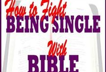 Christian Singles / Bible teaching and tips for Christian singles. To learn more read How to Fight Being Single with Bible Verses from ChristianStressManagement.com