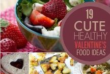 Valentine Ideas / Want choices for Valentines beyond the usual candy and chocolates? Here are some healthy Valetine ideas to look at.