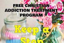 Christian Addiction Treatment / Free Bible based addiction treatment program offered on ChristianStressManagement.com
